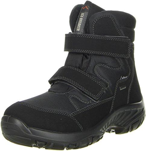 Vista Herren Winterstiefel Snowboots schwarz Schwarz