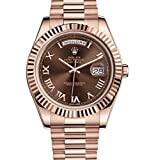 Rolex Day Date II 41 President Everose Gold Watch Chocolate