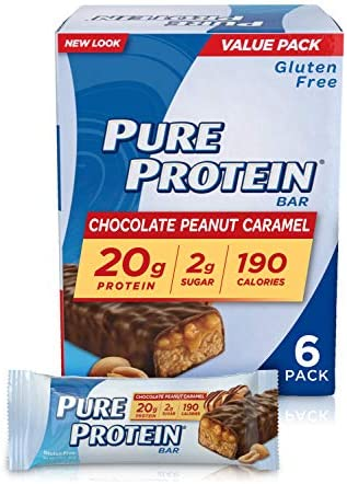 ZonePerfect Protein Bars, Chocolate Chip Cookie Dough, 10g of Protein, Nutrition Bars With Vitamins Minerals, Great Taste Guaranteed, 12 Bars