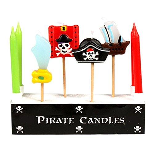 Velas de cumpleaños pirata: Amazon.es: Hogar