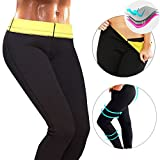 CROSS1946 Women's Slimming Long Pants leggings Yoga Hot Thermo Neoprene Sweat Sauna Body