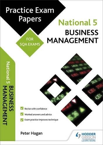 National 5 Business Management: Practice Papers for Sqa Exams (Scottish Practice Exam Papers) PDF