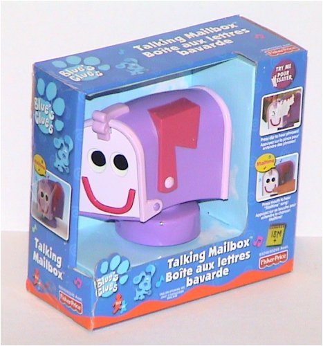 mailbox blues clues toy