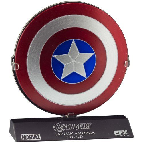 [eFX Marvel The Avengers Captain America Shield Die-Cast Scaled Replica] (Captain America Uniform)