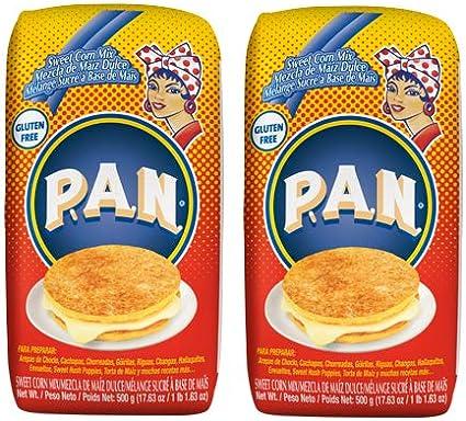 Paquete de 2 Harina Pan mezcla de maíz dulce y mezcla de maíz Dulce (17.63 oz) 500 g