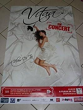 Vitaa A Fleur De Toi 40x60cm Affiche Poster Amazon Fr