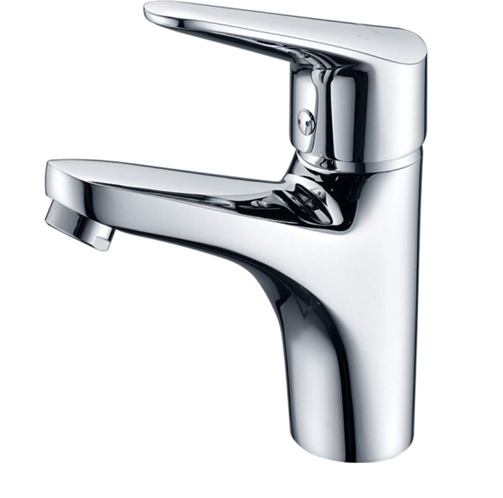 Kitchen Taps Faucet Modern Kitchen Sink Taps Stainless Steelfacebasin Faucet Copper Cold and Hot Water Nozzle Handbasin Faucet