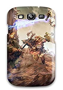Hot Tpu Cover Case For Galaxy/ S3 Case Cover Skin - Warrior