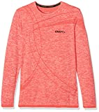 Craft Active Comfort RN Jr Base Layer Long Sleeve Poppy, 122/128