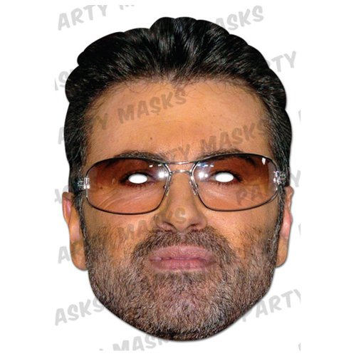 Michael Costume 80's George (George Michael Face Mask (Single)