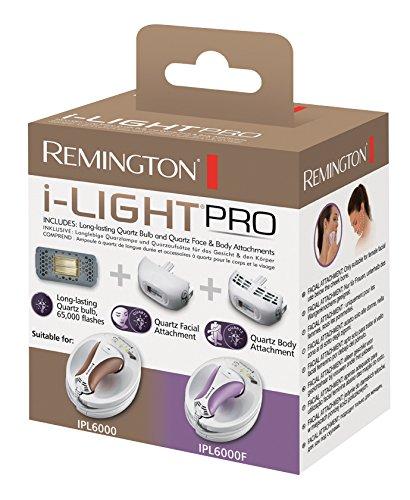 Remington SP-6000FQ Kit Ciso e Corpo al Quarzo Compatibile con IPL6000 e IPL6000F 44141530100 epilatore; lucepulsata; ceretta; peli; epilazione