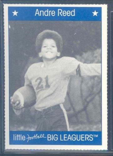 1990 Little Big Leaguers Andre Reed Bills Little League Photo - Mint Condition Ships in a Brand New (Buffalo Bills Card Holder)
