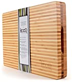 high end kitchens High-End Reversible Cutting Board - The Most SOPHISTICATED Serving and Chopping Block on the market! Cutting Board on one side for cutting and chopping. Butcher's Block and Cheese Board all in one!