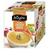 Imagine Organic Low-Sodium Chicken Broth, 6 ct./32 oz. (pack of 6)