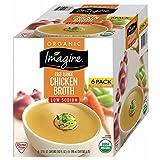 Imagine Organic Low-Sodium Chicken Broth, 6 ct./32 oz. (pack of 2)