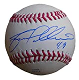Milwaukee Brewers Yovani Gallardo Autographed Hand Signed Baseball with Proof Photo of Signing and COA, Texas Rangers, Baltimore Orioles, Seattle Mariners
