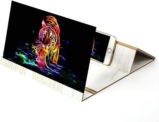 GH&YY Amplificador Smartphone Universal Celular Pantalla HD Movie ...