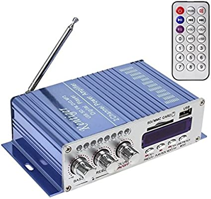 100W Hi-Fi Stereo radio MP3 Amplifier MP3 Player for Car Vihicle Motorcycle