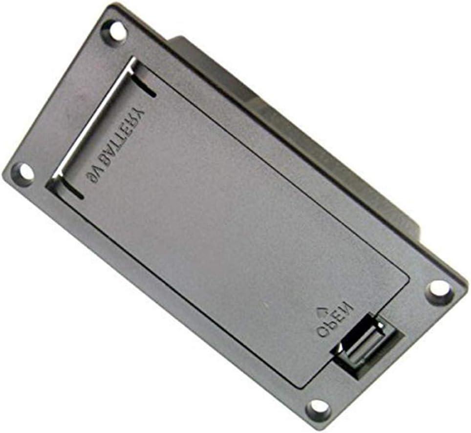 Ogquaton Caja de batería de Recogida de Base de Guitarra Caja de Soporte de batería Caja Cuadrada de batería de 9V Creativo y útil: Amazon.es: Hogar