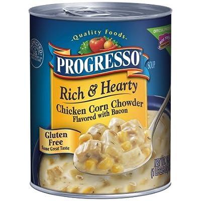 Progresso Soup Chicken Corn Chowder 18.5 Oz