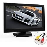 ePathChina® 5 TFT-LCD Digital Car Rear View Monitor LCD Display for VCD/DVD/GPS/Camera