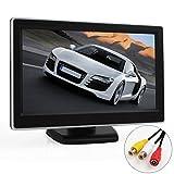 ePathChina® 5'' TFT-LCD Digital Car Rear View Monitor LCD Display for VCD/DVD/GPS/Camera