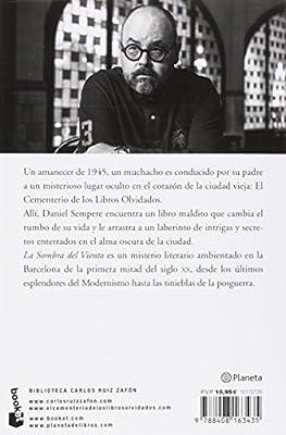 La Sombra del Viento (Biblioteca Carlos Ruiz Zafón): Amazon.es ...
