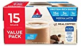 Atkins Protein-Rich Shake, Mocha Latte, Gluten Free, 15 Count Value Pack