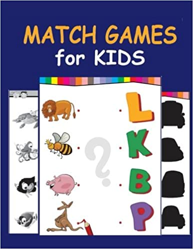 Match Games for Kids: Kids from toddlers to PreK and Kindergarden ...