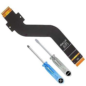 MMOBIEL Cable Plano Flexible Compatible con Samsung Galaxy Tab 2 10.1 Pulgadas (P5100 P5110) Incl. Destornilladores