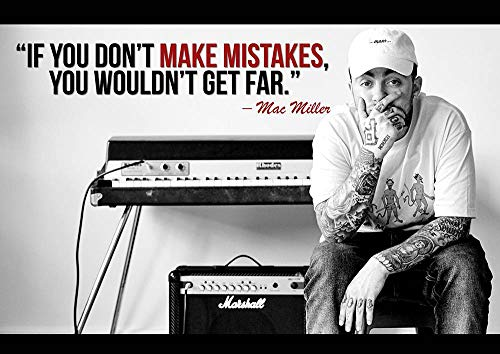 Ulterior Clothing Mac Miller Make Mistakes A1 A2 A3 Poster