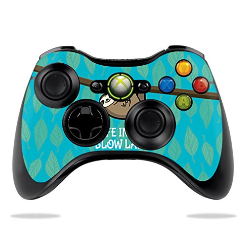MightySkins Skin For Microsoft Xbox 360 Controller – Slow Sloth Protective, Durable, and Unique Vinyl Decal wrap cover | Easy To Apply, Remove, and Change Styles | Made in the USA For Sale