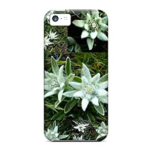 Pretty WWIfDpO6817Eekqe Iphone 5c Case Cover/ Edelweiss Of The Alps Series High Quality Case