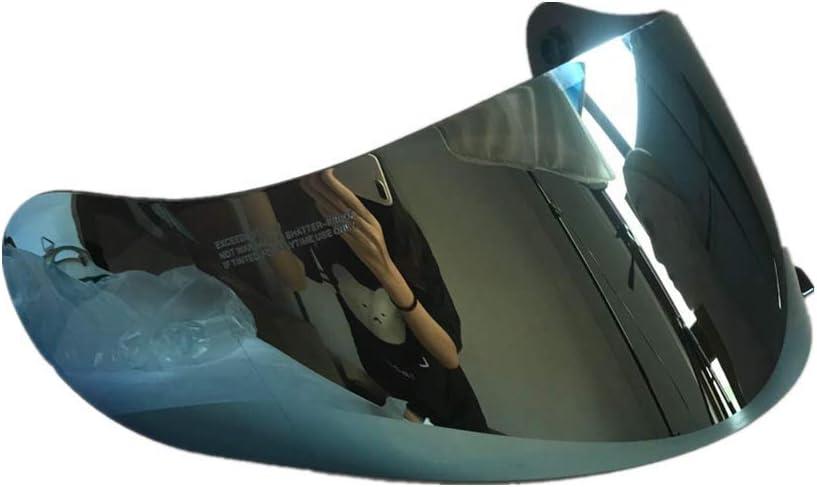 Viviance Motorradhelm Lens Schild Visor Für Hjc Cl 16 Cl 17 Cs 15 Cs R1 Cs R2 Cs R2 Cs 15 Hellblau Auto