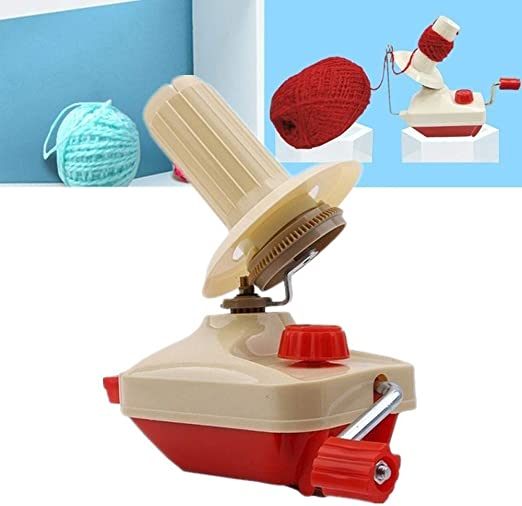 BYBYCD Yarn Ball Winder Bobbin Winder Fiber String Line,Ball Winding Winder,Handheld Wool Winder for Swift Yarn Fiber Ball
