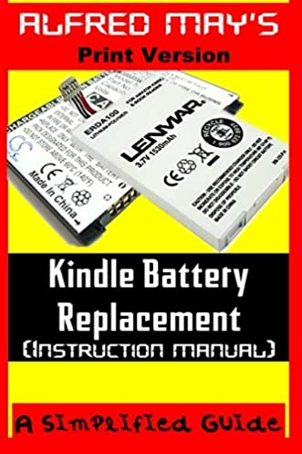 amazon com kindle battery replacement instruction manual for rh amazon com Amazon Kindle Instruction Book Kindle and PDF Files