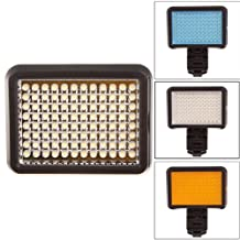 Water & Wood XT-96 LED Video Light for Camera DV Camcorder with Sony Canon Nikon Hot Shoe Adapter