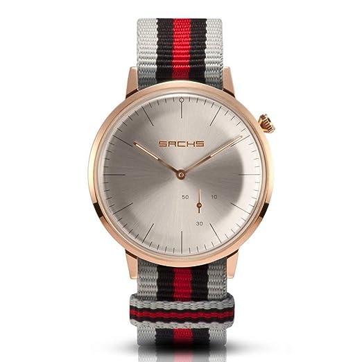 5fc8bfe3ccaf Sachs - Reloj de Pulsera analógico para Hombre y Mujer (Cuarzo ...