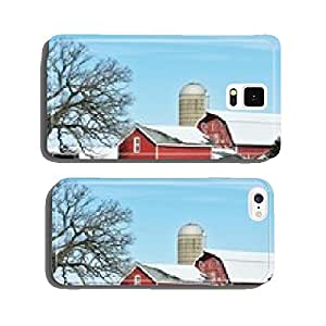 Winter Farm cell phone cover case Samsung S6