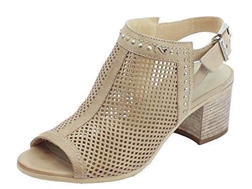 Nero Giardini Women's Fashion Sandals Champagne 2GVdKeDW