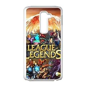 League Of Legends LG G2 Cell Phone Case White JNC8CK6K