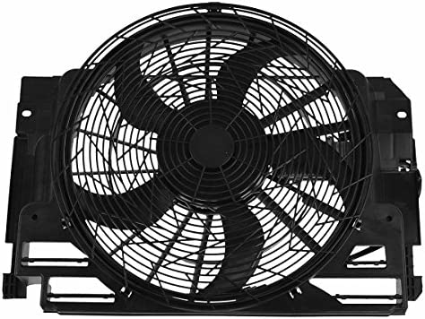 A//C Condenser Fan Assembly-Air Conditioning Fan Assembly fits 00-06 BMW X5