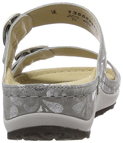 Silber Senja Silber Grau Femme Berkemann Mules 1Cvxwq0g