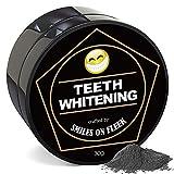 Teeth Whitening Charcoal Powder, MatureGirl Large Capacity Teeth Whitening Powder Natural Activated Coconut Charcoal Toothpaste (Black)