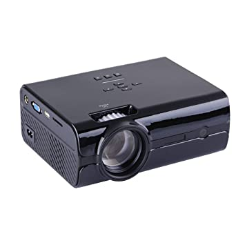 Proyector Portátil Mini 1500 Lux LCD Home Theater Proyector 2000 ...