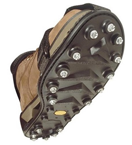 STABILicers Maxx Original Heavy Duty Stabilicers Ice Traction Cleat for Snow and Ice - Large - Traction cleats for Boots and Shoe Ice Cleats