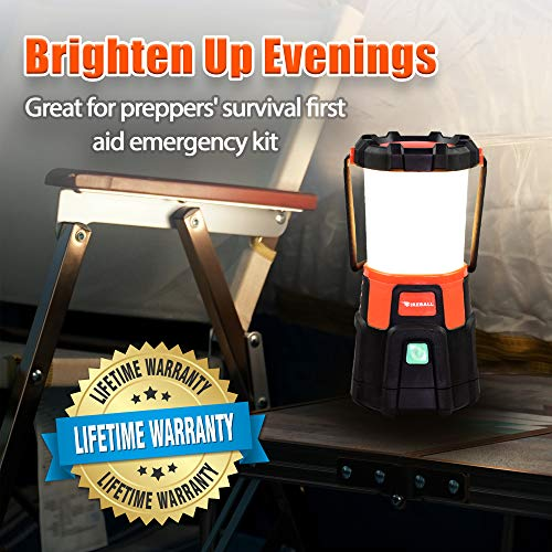 Blazin' Fireball | Brightest Lanterns Battery Powered | LED Hurricane Lantern | Emergency, Storm, Camping Torch | Battery Operated Lights | 1000 Lumen Lantern by Blazin' Bison (Image #6)