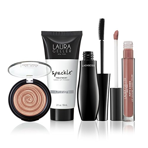 Laura Geller Spackle - Laura Geller New York Glow Getter 4 Piece Make-Up Collection