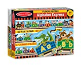 Toys : Melissa & Doug Alphabet Express Jumbo Jigsaw Floor Puzzle (27 pcs, 10 feet long)