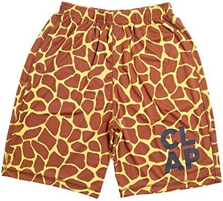 CLAP(クラップ) ハーフパンツ ジラフ(Giraffe) YELLOW M